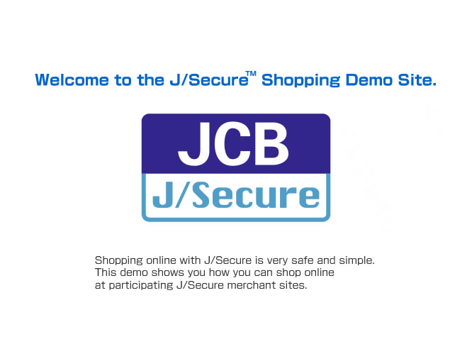 J/Secure Shopping Demo01