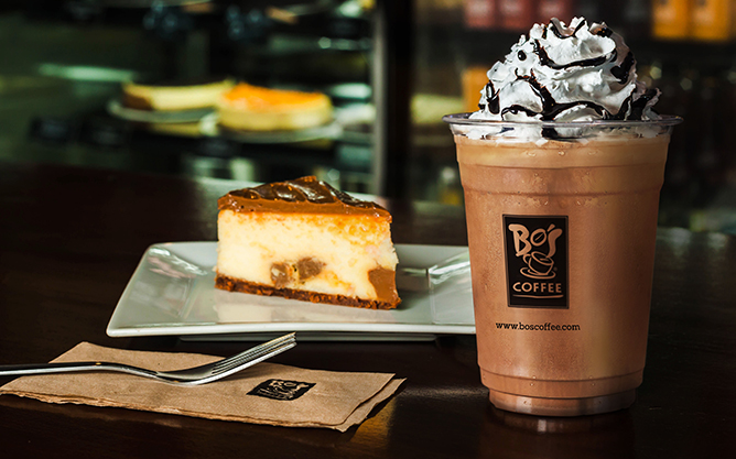 Bo's Coffee Beverage at Php1.00 On Your Next Trip!