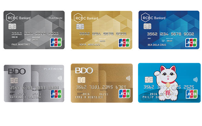 Choosing the right JCB Card for you